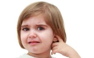 Как справится с отитом у ребенка