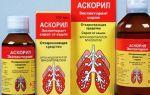 Препарат от кашля Аскорил
