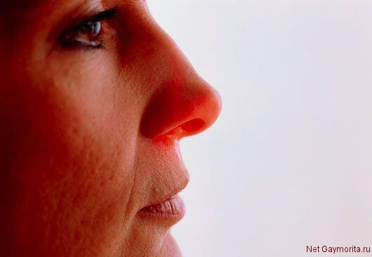 заложенность носа при рините