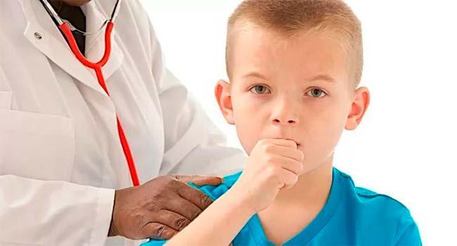 У ребёнка сильный кашель