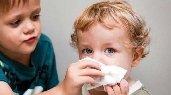 кашель и сопли у ребёнка