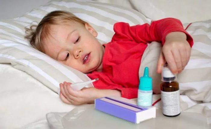 У ребёнка кашель