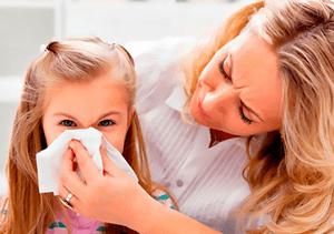 аллергический гайморит у детей