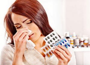 Антибиотики при синусите