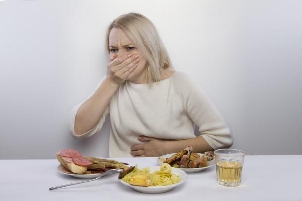 кашель после еды