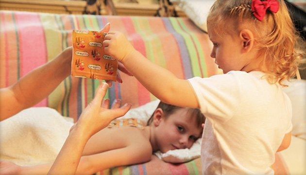 Как ставить горчичники при кашле детям