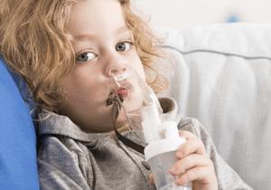 Ингаляция от гайморита для детей