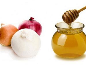 лук и мед при гайморите