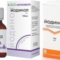 Применение йодинола при ангине и хроническом тонзиллите