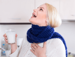 полоскать горло перекисью при беременности