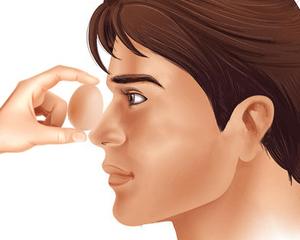 прогревание носа при гайморите