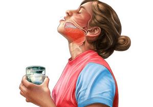 Как полоскать горло правильно при ангине