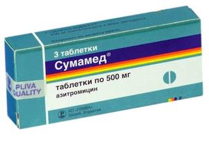 Лакунарная ангина Антибиотики