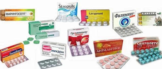 Лакунарная ангина препараты