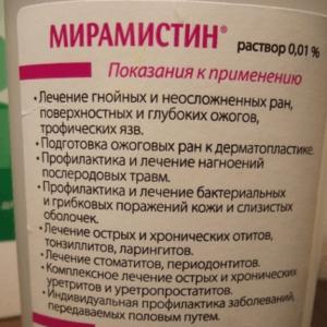Мирамистин инструкция по применению