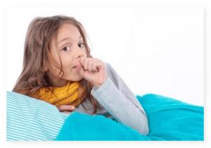 лечения кашля при ангине у детей